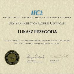 IICL course for Dry Van