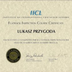 IICL course for Flat Rack
